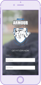 armour fitness website by digital peak