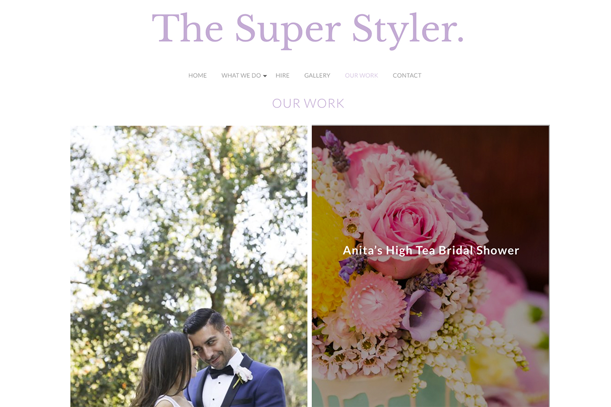 The super styler website by digital peak
